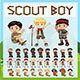 Scout Boy Characters