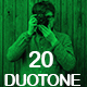 20 Duotone Photoshop Action - GraphicRiver Item for Sale