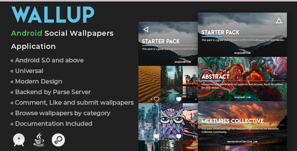 WallUp | Android Social Wallpapers Application            Nulled