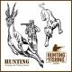 African Safari Hunting Retro Poster