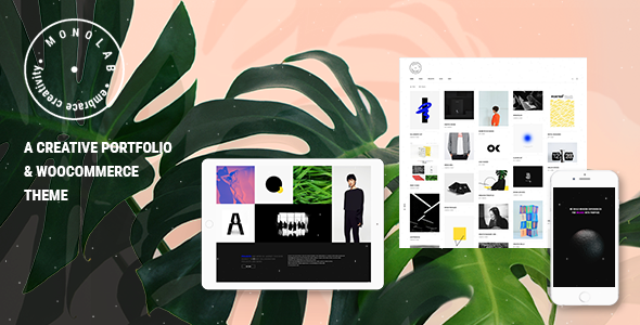 Monolab - Portfolio and WooCommerce Creative Theme