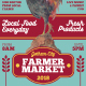 Hand Drawn Rooster Farmer Market Flyer - GraphicRiver Item for Sale