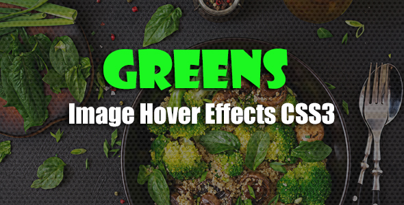greens - CSS3 Image Hover Effects - CodeCanyon Item for Sale