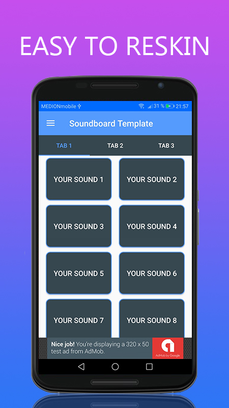 Soundboard with Share function