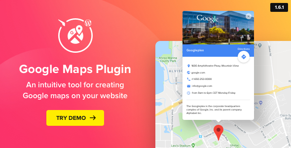 Google Maps - WordPress Map Plugin - CodeCanyon Item for Sale
