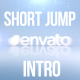 Pop Up Jump 3D Logo short minimal Intro - VideoHive Item for Sale