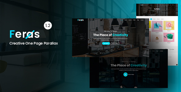 Feras - Creative One Page Parallax