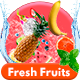 Fresh Fruits Logo - VideoHive Item for Sale