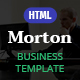 Morton Business & Corporate HTML Template - ThemeForest Item for Sale