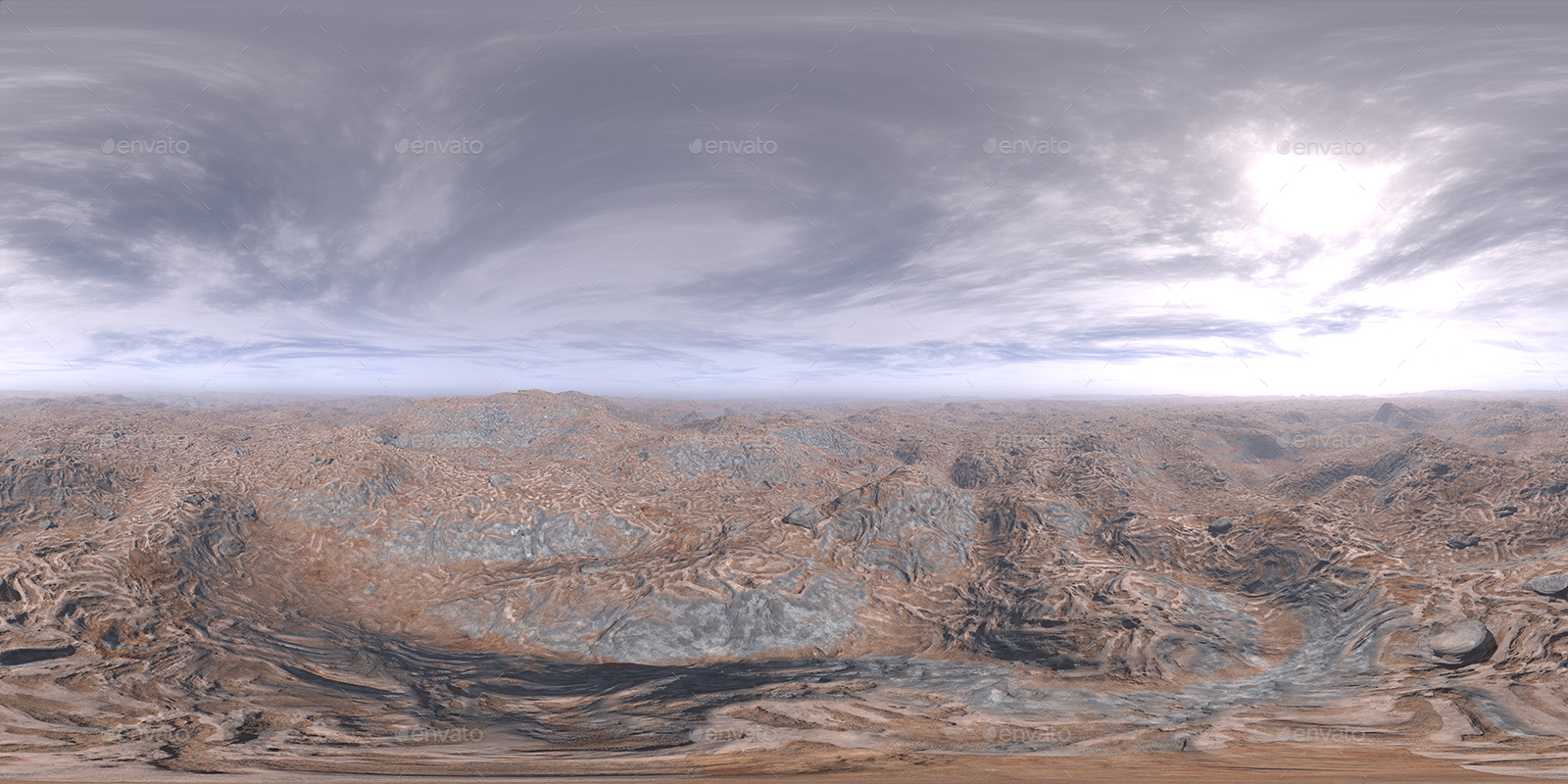 Before Noon Desert HDRI Sky