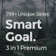 Smart Goals Premium 3 in 1 Bundle Powerpoint Template - GraphicRiver Item for Sale