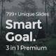 Smart Goals Premium 3 in 1 Bundle Powerpoint Template