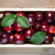 Plums in wooden box close-up - PhotoDune Item for Sale