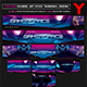 Gamer Space Youtube Channel Art/Video Thumbnail and Ending Video Template - GraphicRiver Item for Sale