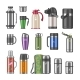 Thermos Vector Vacuum Flask or Stainless Bottle