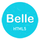 Belle - One Page HTML Template - ThemeForest Item for Sale