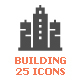 Building Filled Icon - GraphicRiver Item for Sale