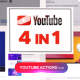 YouTube Channel Page 4 in 1 - VideoHive Item for Sale
