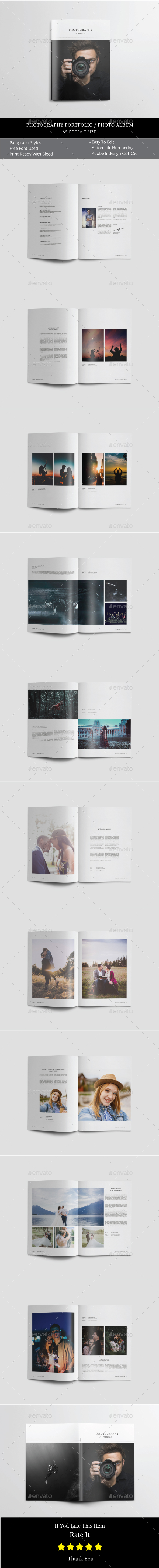 Photo Album Templates from GraphicRiver