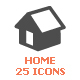 Home Filled Icon - GraphicRiver Item for Sale