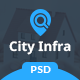 City Infra - Property Listing PSD Template - ThemeForest Item for Sale