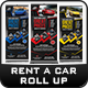 Rent a Car Roll-Up Banner Templates