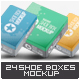Shoe Boxes Mock-Up Bundle - GraphicRiver Item for Sale