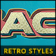 10 Retro Text Styles vol. 02 - GraphicRiver Item for Sale