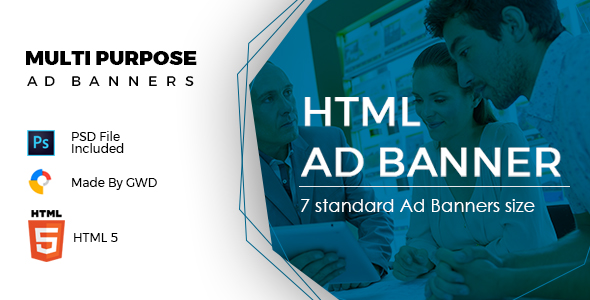 Multi Purpose Ad Banners            Nulled