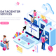Datacenter Concept Vector Design - GraphicRiver Item for Sale