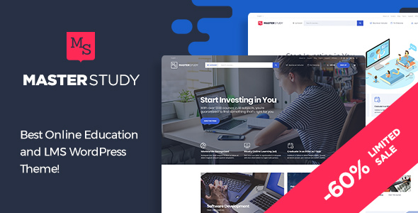 Masterstudy v2.0.2 - Education LMS WordPress Theme for eLearning and Online Courses