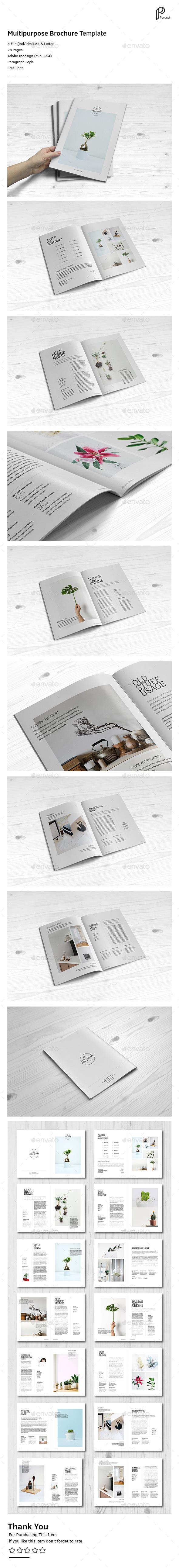 Simple Multipurpose Portfolio Vol.5 - Portfolio Brochures