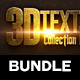3D Text Effects Bundle 1 - GraphicRiver Item for Sale