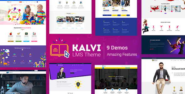Kalvi Education | LMS Education Theme