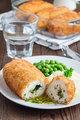 Chicken Kiev, ukrainian cuisine. Cutted chicken cutlet in bread - PhotoDune Item for Sale