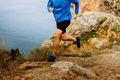 male runner running on mountain - PhotoDune Item for Sale