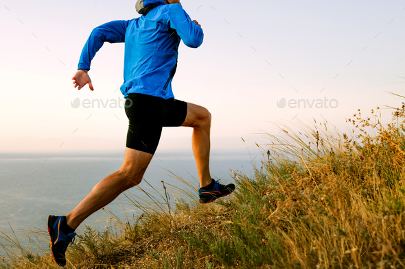 male athlete runner - Stock Photo - Images