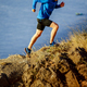 running on steep slope of mountain - PhotoDune Item for Sale