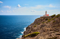 Capdepera lighthouse in Cala Ratjada, Mallorca. - PhotoDune Item for Sale