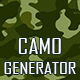 Camouflage Texture Generator - 12 PS Actions  Vol.1 - GraphicRiver Item for Sale