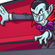 Vampire Coming Out of Coffin - GraphicRiver Item for Sale