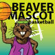Beaver Mascot Basketball - GraphicRiver Item for Sale