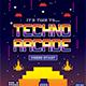 Techno Arcade Flyer Template