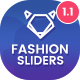 Fashion Sliders - 10 PSD - GraphicRiver Item for Sale