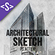 Architectural Sketch Photoshop Action