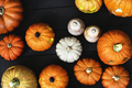 Arial view of Halloween pumpkins - PhotoDune Item for Sale
