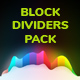 Horizontal Block Dividers Pack - GraphicRiver Item for Sale