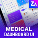 Medical dashboard data - ThemeForest Item for Sale