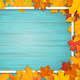 Autumn Leaves and Frame - GraphicRiver Item for Sale