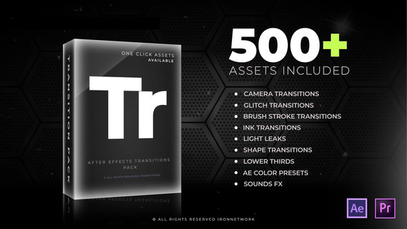Transitions 21637768 - Project for After Effects (Videohive)